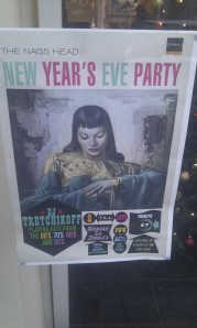 Nags Head New Year's Eve poster