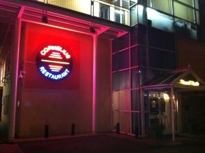 Cornelius restaurant sign