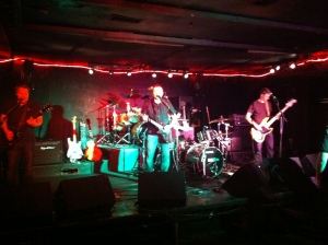 Nightfires on stage at The Standard